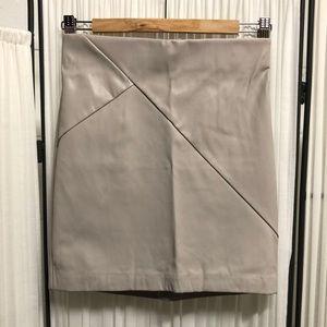EUC Dynamite - Vegan Leather Miniskirt - Size Sm